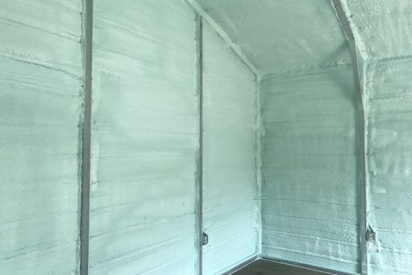 Closed Cell Foam in Metal Building